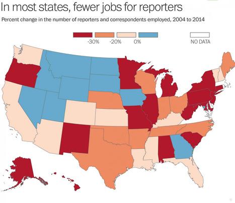 Tapis rouge et cruelles statistiques pour la presse américaine   DocPresseESJ   Scoop.it