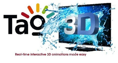 L'outil d'animation 3D temps réel Tao 3D devient Open Source. | Time to Learn | Scoop.it