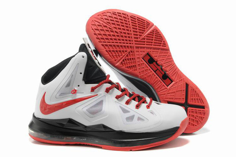 Nike Lebron 10 GR Miami Heat Home White Black Red - Nike Lebron 10 Sale | 2012 Fashion Moncler Womens Jackets | Scoop.it