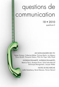 Parution : Questions de communication, n° 18, «Les non-usagers des TIC»   Dynamiques territoriales par les coopérations   Scoop.it