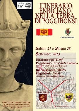 #Poggibonsi, continua il #trekking lungo le strade di #EnricoVII   www.consulenteturisticolocale.it   Scoop.it