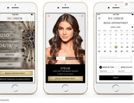 L'appli DreamDry : mon coiffeur entre 2 rendez-vous - USA Marketing : Laurence repère...   Digital et Expérience client omnicanal   Scoop.it