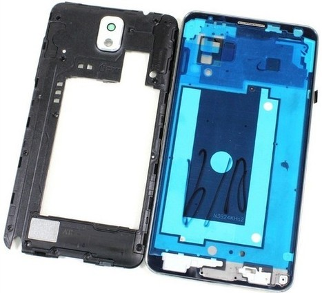 USPS White LCD Bezel+ Back Camera Cover For Samsung Galaxy Note 3 N900A AT&T | newest phone accessories | Scoop.it
