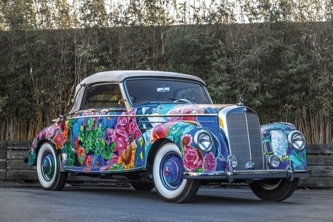 """1952 Mercedes-Benz 220 A Cabriolet Earthly """"Paradise"""" by Hiro Yamagata 