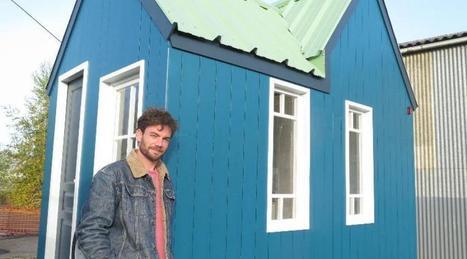 Sa petite maison se tracte comme une caravane | Dans l'actu | Doc' ESTP | Scoop.it