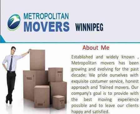 Moving Company In Winnipeg Manitoba | Metropolitan Movers Winnipeg | Scoop.it
