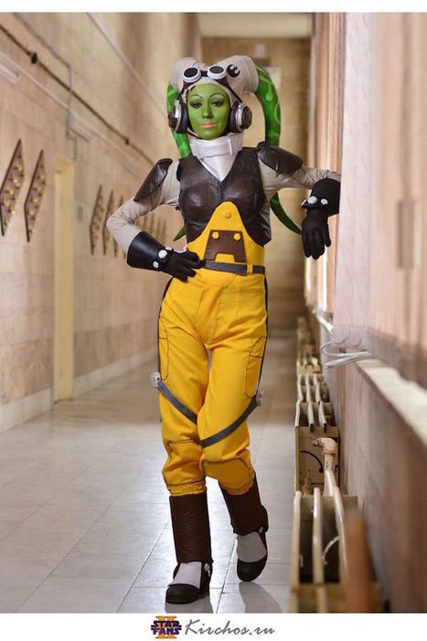 Hella Stellar Hera Syndulla 'Star Wars' Cosplay Is Making Me Green With Envy - moviepilot.com | Photoshooting | Scoop.it
