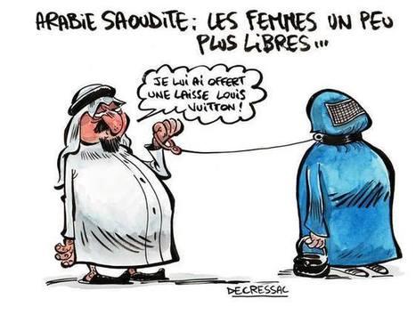 """Dessin de presse - Arabie Saoudite: """"les femmes un peu plus libres...""""   Dessins de Presse   Scoop.it"""