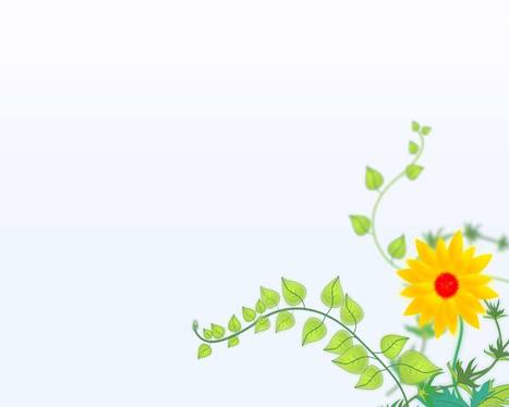 Sun flower background | Free PowerPoint Backgrounds | Scoop.it