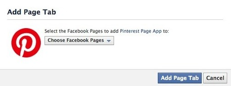 How to Add Pinterest to Your Facebook Page | Pinterest for Business | Scoop.it