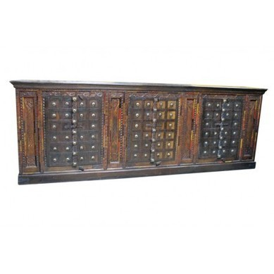 Old World Carved Sideboard with Clavos Furniture | old world furniture | Scoop.it
