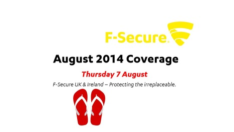 August 2014 Coverage (7th) | F-Secure Coverage (UK) | Scoop.it