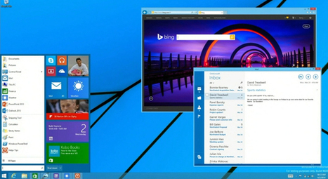 Microsoft Is Bringing the Start Menu Back to Windows 8 | Best Free Software | Scoop.it