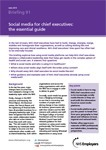 Social media for chief executives: the essential guide from NHS Employers | Social Media & Healthcare | Scoop.it
