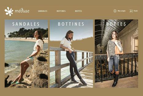 A 70 ans, les sandales Méduse ont leur site e-commerce   Tendances Mode & Création   Scoop.it