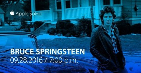 Bruce Springsteen at Apple SoHo - Bruce Springsteen Official Site | Bruce Springsteen | Scoop.it