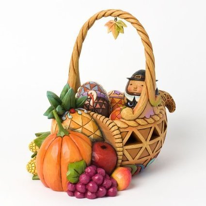 Best Selling Thanksgiving Figurines Bounty of Blessings Centerpieces Ornaments for the Table Reviews 2014 | winter | Scoop.it