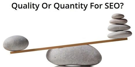 Should You Opt For Quantity Or Quality For SEO?  | Web Designing Company Bangalore | Scoop.it