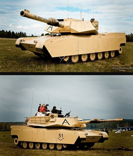 Red Army Club: The AMAZING M1A1 Airsoft Tank...built in RUSSIA! | Airsoft Showoffs | Scoop.it