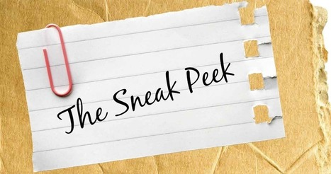 Why I Hate the Sneak Peek - Crushingcinders | What's up 4 school librarians | Scoop.it