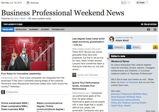 June 16 - Business Professional Weekend News | Business Futures | Scoop.it