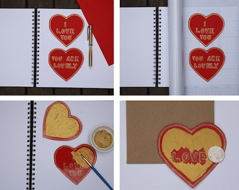 bookhoucraftprojects: Project #73: Valentine Scratch Cards | SMART TINKER SCOOPS FOR PARENTS | Scoop.it