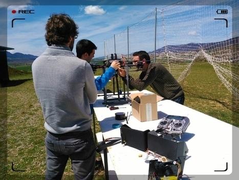 ¿Que son grabaciones aéreas con drones ? - Huesca Drones   Cuéntamelo España   Scoop.it