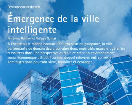 Émergence de la ville intelligente - Accenture Outlook | ville et technologie | Scoop.it