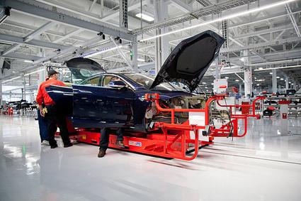 Tesla veut racheter le fabricant de panneaux solaires SolarCity | Energies Renouvelables | Scoop.it