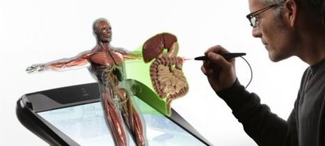 Estudios médicos con hologramas 3D interactivos, una realidad | historia de la tecnologia (pasado-presente-futuro). | Scoop.it