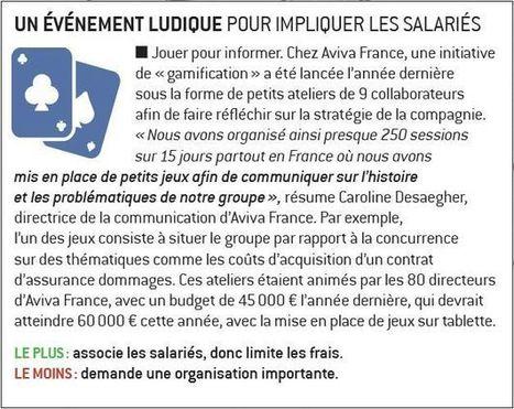 Les six bonnes pratiques de la communication interne : les événements ludiques (2/6)   Marie Lagoute   Scoop.it