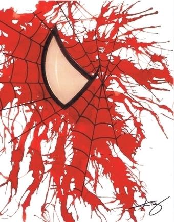 Spider-Man, in Jason WGavin's Artist: Kevin Eslinger Comic Art Gallery Room - 1195403 | Savvy Comics | Scoop.it