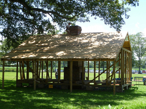 reconstructing the slave quarters | Oak Alley Plantation: Things to see! | Scoop.it