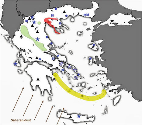 Geological Sources of As in the Environment of Greece | Mineralogy, Geochemistry, Mineral Surfaces & Nanogeoscience | Scoop.it