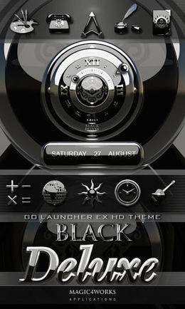 3D BLACK DELUXE GO theme v1.0 (paid) apk download | ApkCruze-Free Android Apps,Games Download From Android Market | gender | Scoop.it