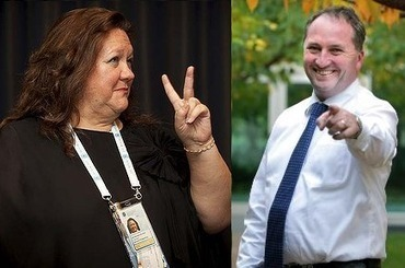 Gina's $700k Barnaby, Tony Abbott and the businessman with two names | Let's keep the NSW Coalition government accountable on the Northern Tablelands. | Scoop.it