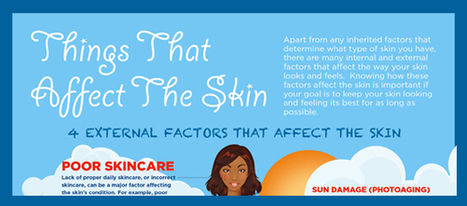 Things That Can Affect The Skin - Healthy Skin Solutions | Skin Care | Scoop.it