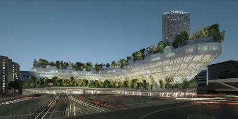 Les vingt-deux projets sélectionnés pour le concours «Réinventer Paris» - le Monde | Actualités écologie | Scoop.it