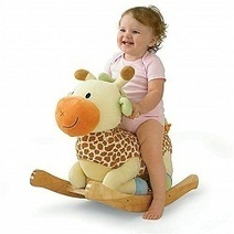 Raffi Giraffe Rocker by Rockabye | Best Ride On Toys For Toddlers 2014 | Scoop.it