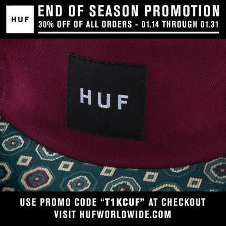 Twitter / hufworldwide: Shop our HUF online store and ... | online shopping | Scoop.it