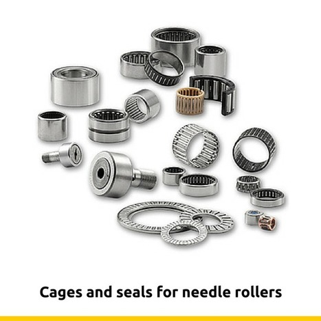 Cages and seals for needle rollers | Rollers and bearings manufacturers and exporters | Scoop.it