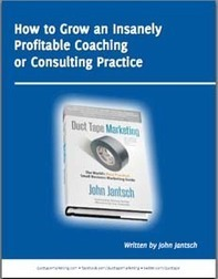 How to Grow an Insanely Profitable Coaching or Consulting Practice - Duct Tape Marketing Consultant | DTM Coaches and Consultants | Scoop.it