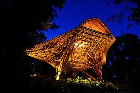 Swooping Bamboo Structure Highlights Innovative Use of Local Materials | sustainable architecture | Scoop.it