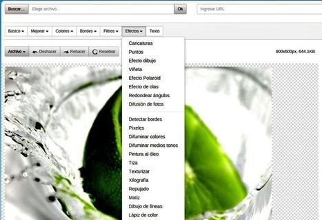 Completo y práctico editor de fotos gratis en línea y gratuito | Educación Matemática | Scoop.it