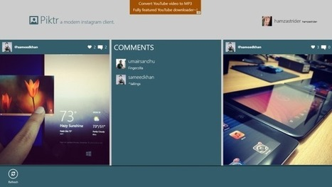 Browse Instagram The Modern UI Way With Piktr For Windows 8 | photograghy | Scoop.it