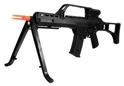 #1 410 FPS JG R36K V3 Electric Airsoft Gun 3x Zoom Scope and Bipod Package MK36 AEG  Best Offer | from my desk | Scoop.it