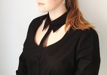 Tutorial: Cut away the neckline on a button up shirt   refashioned clothing   Scoop.it