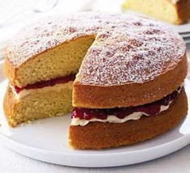 Classic Victoria sandwich | Candy Buffet Weddings, Events, Food Station Buffets and Tea Parties | Scoop.it