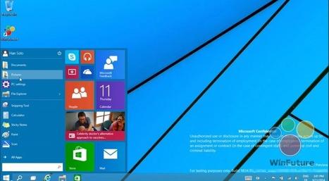 Windows 10 build 9834 adesso un video che mostra il menu start classico   Windows 8 Blog   Scoop.it