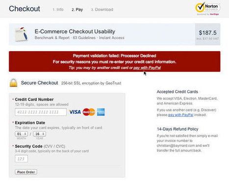 10 Scariest Things That Can Happen to Your Checkout | MarketingHits | Scoop.it